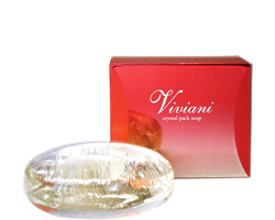 ヴィヴィアーニ Viviani クリスタルパックソープ 基礎化粧品 通販