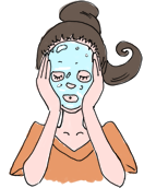 ヴィヴィアーニゲル・フェイスマスクのご使用方法2