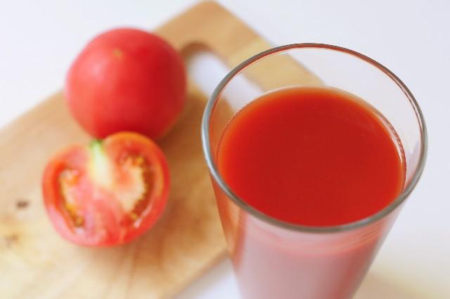 リコピンの摂取に効果的なトマトジュース