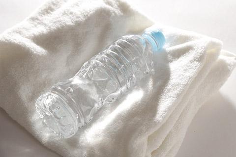 水分補給を徹底する