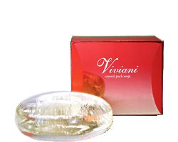 ヴィヴィアーニ viviani クリスタルパックソープ パック洗顔