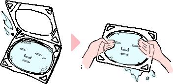 ヴィヴィアーニゲル・フェイスマスクゴールドのご使用方法4