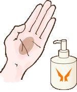 ハンドプロテクト Hand Protect Viviani ヴィヴィアーニ ご使用方法1
