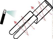 ヴィヴィアーニ ワンサイズダウン ストッキングの場合ご使用方法1